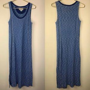 Saturday Sunday Blue tank top maxi dress, XSP